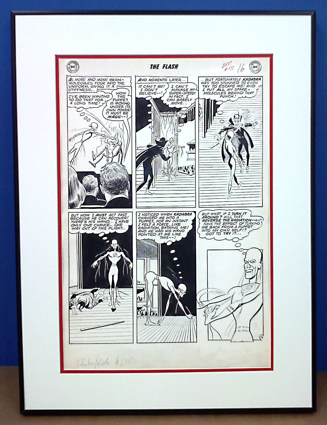 framed comic book art   Hang with Big Picture Framing