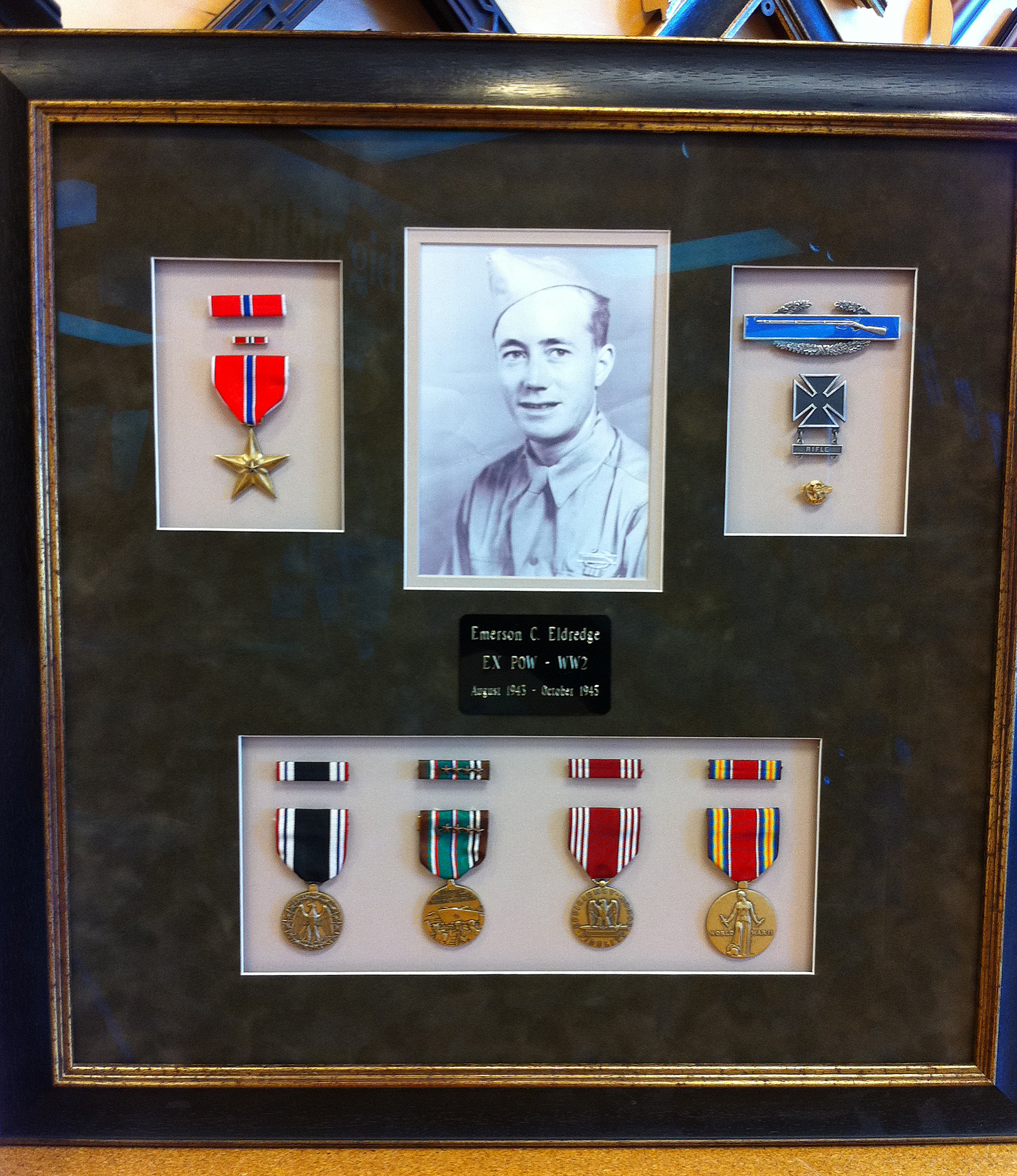 framed medals | Hang with Big Picture Framing