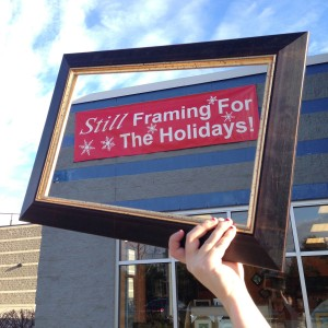 Still framing frame post