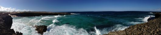 Pano of waves
