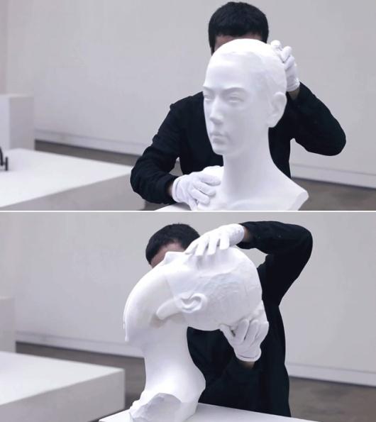 Li Hongbo bust