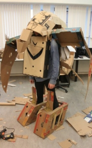 Cardboard workshop